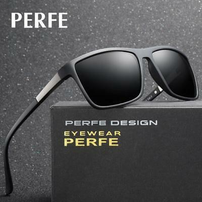 AU13.47 • Buy Men's Polarized Sunglasses TR90 Outdoor Fashion Riding Glasses Driving Goggles