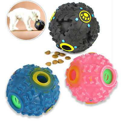 £5.39 • Buy Pet Puzzle Toy Food Dispenser Tough-Treat Ball Dog Interactive Puppy Play Toy
