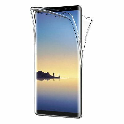 For Samsung Galaxy Note 8 Full Body 360 Silicone Gel Clear Dual Case Cover • 2.39£