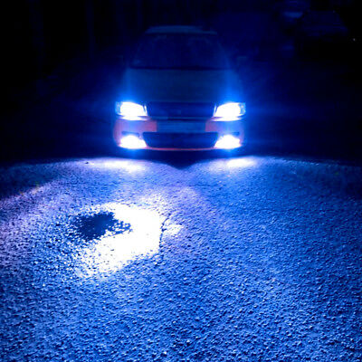 $15.39 • Buy H4 9003 Ice Blue LED Headlight Bulb Conversion Kit High Low Beam 8000K 8000LM