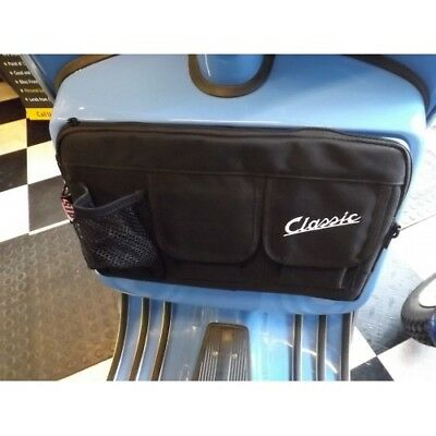 Vespa Px Lml Glovebox Bag 3 Compartments Easy Fit Black • 31.99£