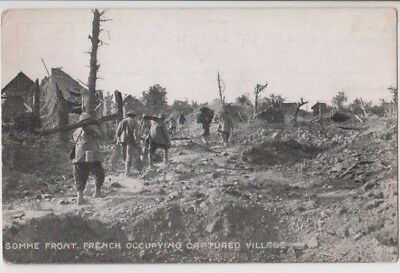 AU35 • Buy WW1 Postcard French At Somme Front YMCA Australian ANZAC Knaphill Camp, Unused