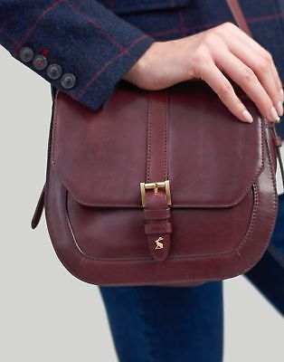 View Details Joules Womens Saddle Leather Bag ONE In OXBLOOD In One Size • 79.95£