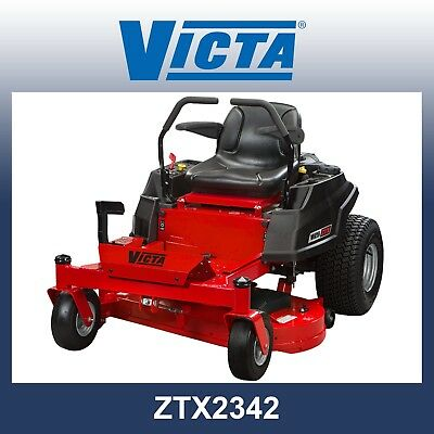AU5799 • Buy Victa Zero Turn Mower ZTX2342, 23hp B&S, 42  Fab Deck, 5 Yr Warranty-SAVE $500!!
