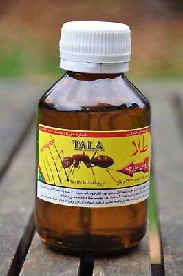 TALA Ant Egg Oil 100 ML -3.52 Oz.- BIG BOTTLE Organic HAIR REDUCEING Authentic • 38.31£