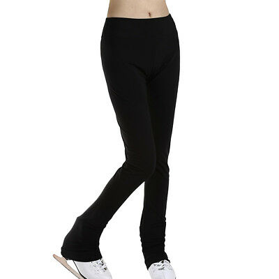 Girls' Women's Ice Skating Pants Figure Skating Tights Trousers Activewear S • 15.96£