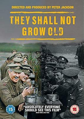 $24.94 • Buy They Shall Not Grow Old [DVD] [2018][Region 2]