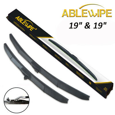 $17.49 • Buy ABLEWIPE Fit For JEEP LIBERTY 2002-2012 Hybrid Windshield Wiper Blades(Set Of 2)