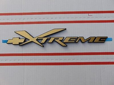 $62.99 • Buy Brand New S10 Xtreme Blazer Door Tailgate Xtreme Emblem Gold Color
