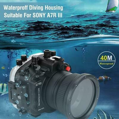 AU751.33 • Buy For Sony A7R III Cameras Underwater 40m Waterproof Diving Housing Case Cover Kit
