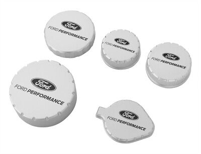 $184.95 • Buy 2015-2021 Mustang Ford Performance M-6766-M50A Billet Aluminum Engine Caps Set
