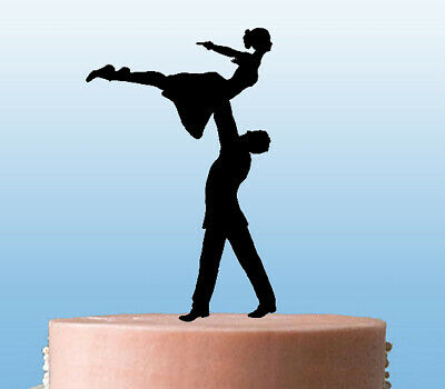 Dirty Dancing  Couple Celebration Cake Topper Decoration - Acrylic • 7.99£
