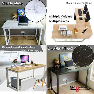 AU119.95 • Buy Computer Desk Study Office Storage PC Laptop Table Student Home Writing Table