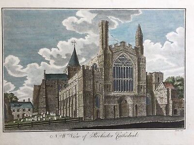 £39.99 • Buy 1780 Antique Large Print: Rochester Cathedral, Kent