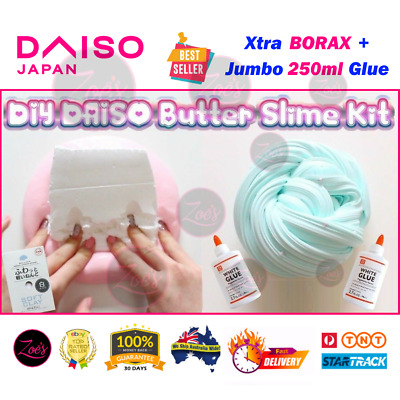 AU18.99 • Buy Slime Kit DIY DAISO Clay Fluffy Butter Glue Activator Chemistry Science Kids Toy