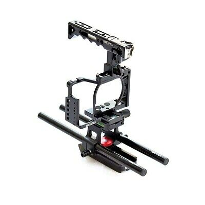$ CDN209.25 • Buy Shootvilla Camera Cage For Sony Alpha A6500 With Top Handle 15 Mm Rod Adapter