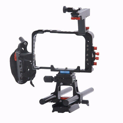 $ CDN156.60 • Buy   Shootvilla Camera Cage For Sony A7s With Top Handle And Rod Adapter Shootvilla