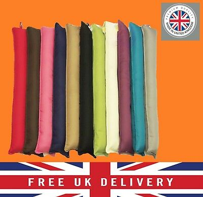Door Window Draught Draft Excluders Insulator Cushion Made In The UK Brand New  • 8.31£