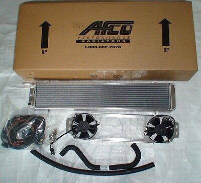 $1749.99 • Buy Supercharged 03-04 Cobra Double Dual Pass AFCO Heat Exchanger Intercooler Fans