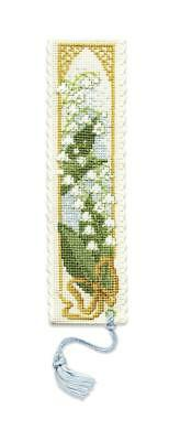£6.41 • Buy Lily Of The Valley Bookmark Cross Stitch Kit By Textile Heritage