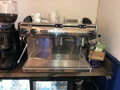 2 Group Automatic Espresso Cappuccino Coffee Machine. Tall Cup Expobar G10 • 1,000£
