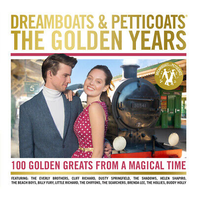 Various Artists : Dreamboats And Petticoats: The Golden Years CD Box Set 4 • 4.46£