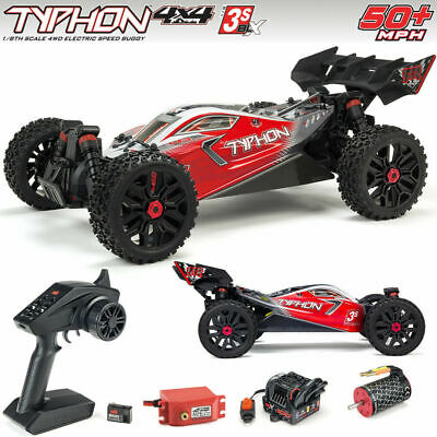 V3 2021 Arrma Typhon 3S BLX Brushless RTR Ready To Run RC 1/8 Scale 4WD Buggy • 229.39£