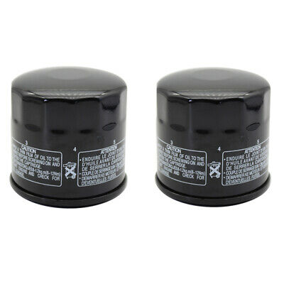 $11.88 • Buy 2 Pack Oil Filter For SUZUKI GSXR600/750/1000 GSX1300R Hayabusa SV650 650 VX800