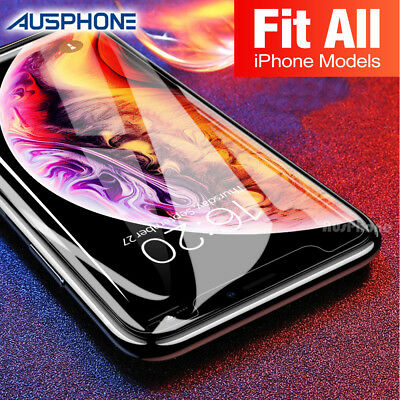 AU3.45 • Buy Tempered Glass Screen Protector For Apple IPhone 11 Pro X XS Max XR 8 7 6S Plus