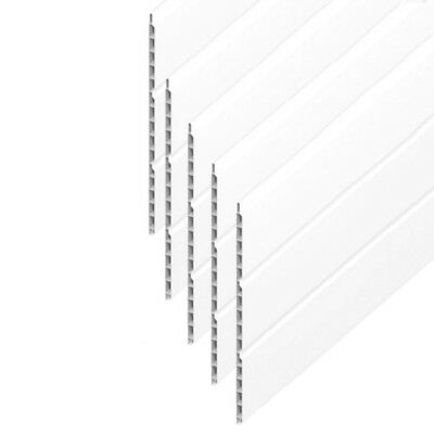 Hollow Cladding Soffit Board White UPVC Plastic 300mm X 5m Length FREE POSTAGE • 19.95£