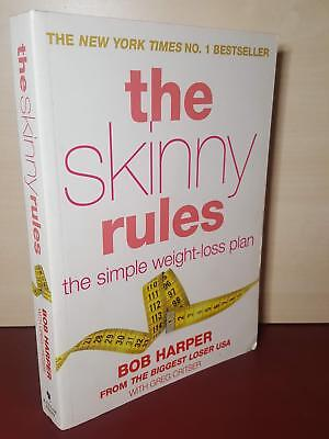The Skinny Rules - The Simple Weight-Loss Plan - Bob Harper - Paperback Book • 1.99£