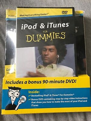 AU13.92 • Buy 6TH Edition - IPod And ITunes For Dummies