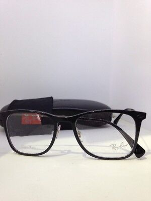 c3218f1d47 NEW AUTHENTIC RAY BAN RB 7086 2000 BLACK FRAMES RX EYEGLASSES RB7086 51mm •  34.99