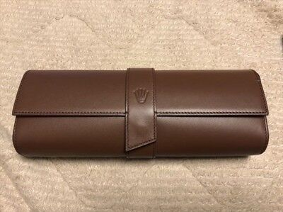 £976.47 • Buy Leather Watch Case Rolex Empty Box Display Storage 10x4 Inches Unused Rare Japan