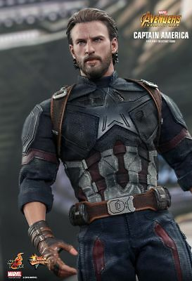 $ CDN320 • Buy Hot Toys Captain America 1/6 Scale Figure Avengers Infinity War MMS 480 NEW