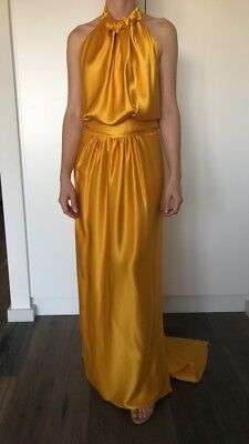AU350 • Buy Carla Zampatti, Golden Gown, Size 6