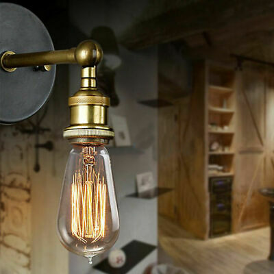 £8.59 • Buy Modern Vintage Retro Industrial Rustic Sconce Wall Light Lamp Fitting Fixture