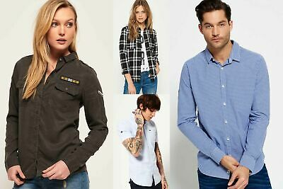 View Details New Superdry Shirts Selection For Men And Women - Various Styles & Colours 06021 • 15.49£
