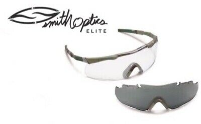 cbca1c306a Smith Optics Elite Aegis Arc Eyeshield Field Kit Multicam - Lens  Clear And  Gray •