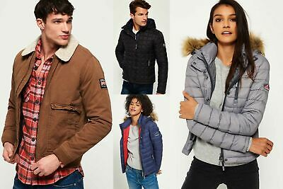 View Details New Superdry Jackets Selection For Men And Women - Various Styles & Colours 0602 • 30.99£