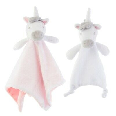 £9.99 • Buy Unicorn Baby Comforter Soft Blanket Security Snuggle Blankie Taggie Toy Gift