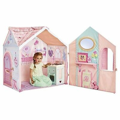 View Details Rose Petal Cottage Tent Kids Play House & Cooker Playset Dream Town For Ages 2+ • 29.50£