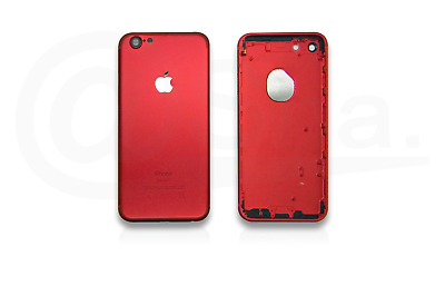 RED - Metal Chassis Rear Replacement Housing Back Cover For IPhone 7 UK • 11.49£
