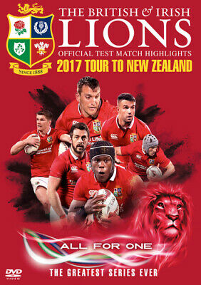 £10.67 • Buy British And Irish Lions: Official Test Match Highlights - 2017... DVD (2017)