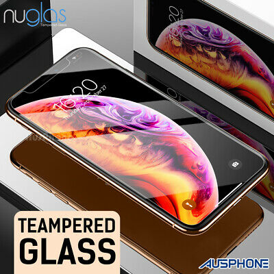 AU7.95 • Buy 2x For IPhone 11 Pro XS Max XR 8 7 Plus NUGLAS Tempered Glass Screen Protector