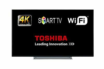 """View Details Toshiba 49V5863DB 49"""" Smart LED TV WiFi 4K Ultra HD With Freeview Play HDMI • 256.00£"""
