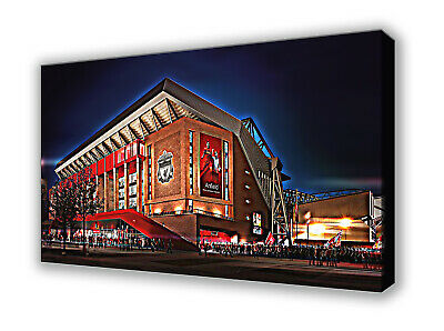 £22 • Buy Liverpool - Anfield - Stylized Picture Wall Canvas 63x40cm