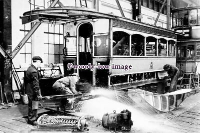 £2.20 • Buy A0809 - Glasgow Tram - Tram Being Repaired Inside The Depot - Print 6x4