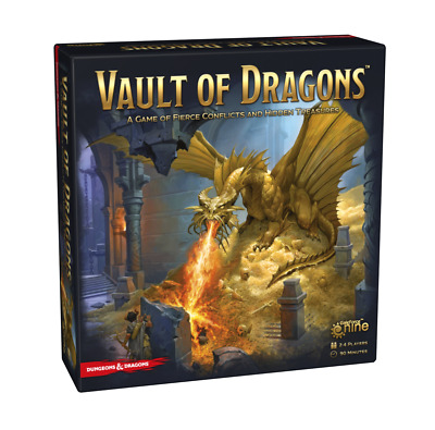 AU73.99 • Buy Dungeons And Dragons Vault Of Dragons - NEW Board Game - AUS Stock