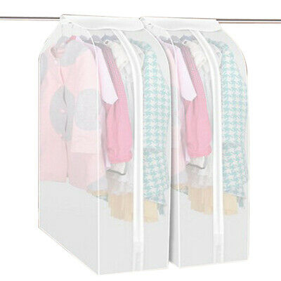 Clothing Dress Garment Suit Coat Dust Cover Protector Wardrobe Storage Bags • 6.04£
